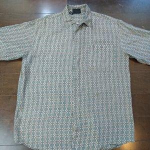 Colore Italia | Silk Button Down Patterned Shirt